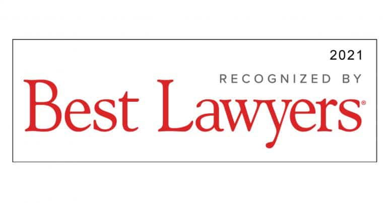 Best Lawyers 2021 recognition
